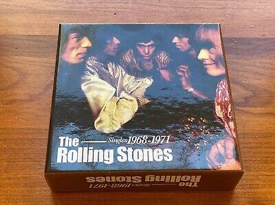 The Rolling Stones -Singles 1968-1971 10 Cd Box Set - Brand (The Rolling Stones Singles Box Set 1971)