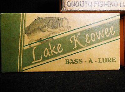 Lake Keowee fishing lure boxes make nice lake house decorations