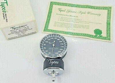 Tycos Welch Allyn 5090-03 Jewel Movement Sphygmomanometer Pocket Aneroid Gauge