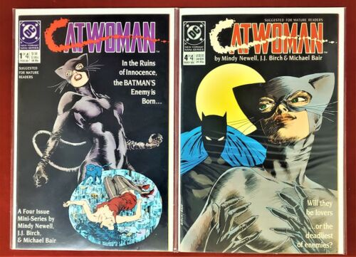 Catwoman Lot# 1, 4  VF/NM