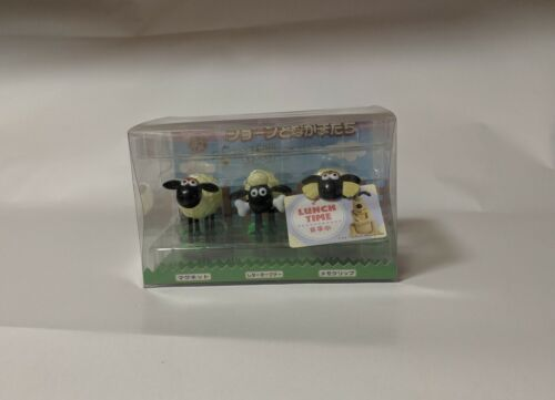 rare Wallace & Gromit sheep desk set from Japan