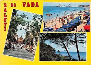 Cartolina-Postcard-Saluti-da-Vada-vedutine-1977