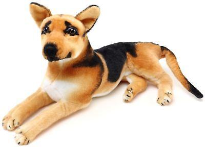Hero the German Shepherd   19 Inch Stuffed Animal Plush Dog   By Tiger Tale Toys