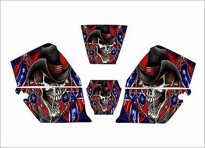 Jackson Wh60 Hsl100 Wf60 W30 40 0744 Nexgen Welding Helmet Decal Rebel Sk