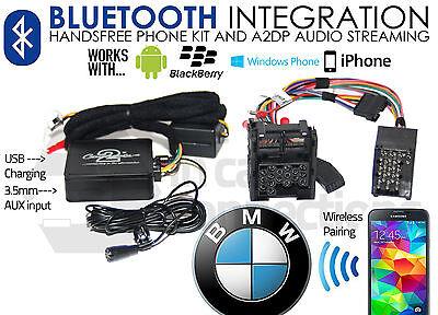 BMW 3 Series Bluetooth streaming handsfree calls E46 CTABMBT007 AUX MP3 iPhone