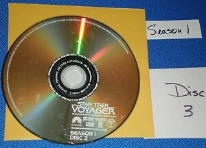 Good-REPLACEMENT-DISC-3-ONLY-Star-Trek-Voyager-First-Season-DVD-EXPORT-WELCOME