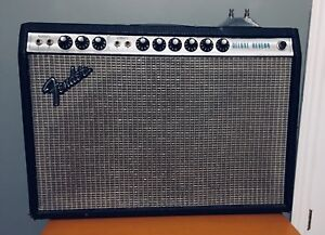 1974 Fender Deluxe Reverb Silverface