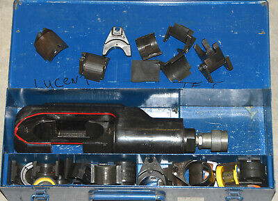 Thomas And Betts Hydraulic Crimper Compression Tool Ep 610h Huskie Burndy Wdies