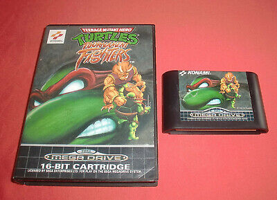 Megadrive 1 & 2 Turtles Tournament Fighters [PAL-Fr] Original Sega Rare *JRF*