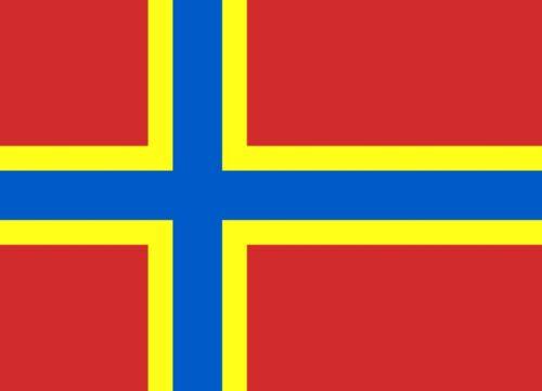 ORKNEY ISLANDS 5 X 3 FEET FLAG SCOTLAND SCOTTISH UK BRITISH ORKNEYS FLAGS