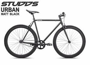 Brand New Studds Fixie/Singlespeed Bike Matt Black Port Melbourne Port Phillip Preview