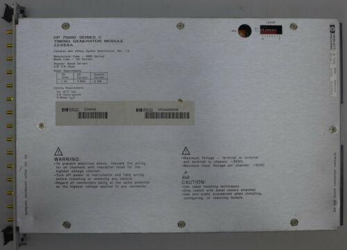 HP Z2489A Timing Generator Module