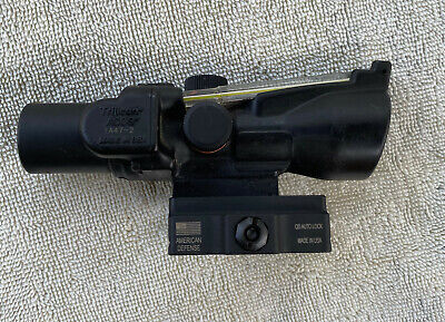 Trijicon ACOG scope TA47-2 for AR type rifle