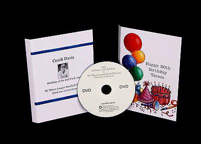 Video Tapes to DVD transfer VHS, VHSc, Mini DV, 8mm, Hi 8, Digital 8, DVD to DVD