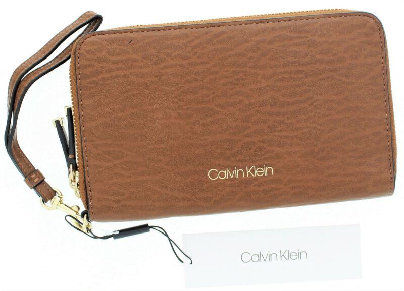 Calvin Klein Zip Around Clutch Wristlet Luggage