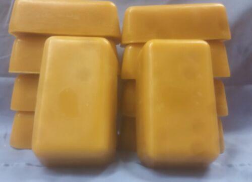 20 1 lb Blocks of Bulk 100% Pure Triple Filtered Beeswax(Bees Wax)
