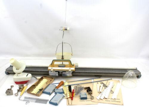 Empisal Knitmaster Mod 100 Knitting Machine with EJ01N Ball Winder