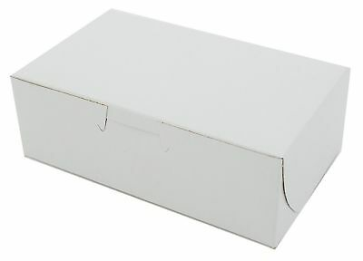 6 14 X 3 34 X 2 18 Paperboard White Mt Products Bakery Box - 30 Pieces