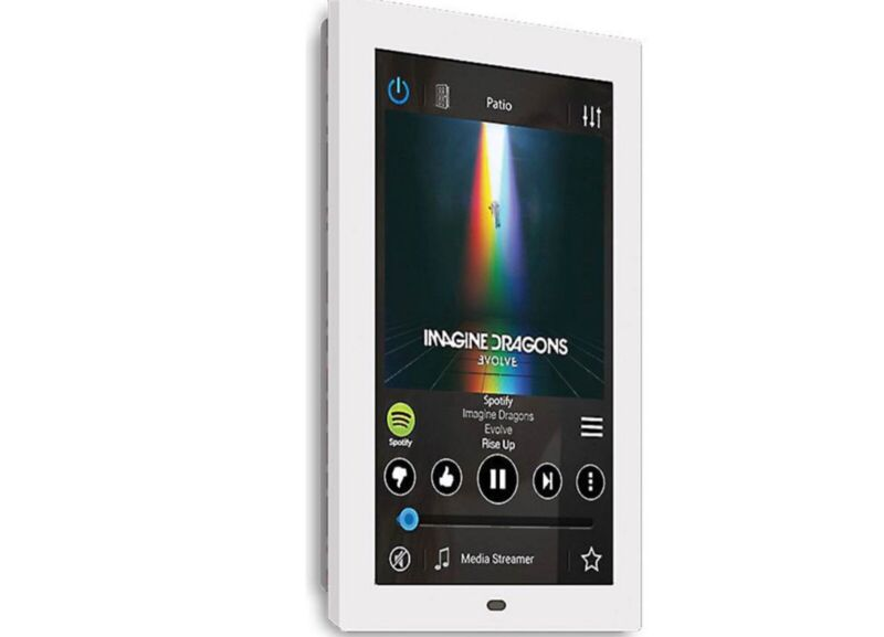 Russound XTSPlus In-wall touchscreen control compatible w/ MCA systems XTS