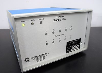 Columbus Instruments Oxymax Sample Max 191 8-channel For Animal Testing Unit