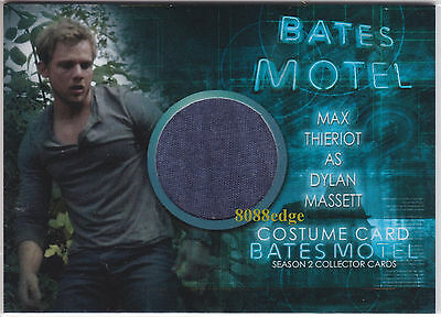 2016 BATES MOTEL SEASON 2 COSTUME CARD: MAX THIERIOT #CMT1