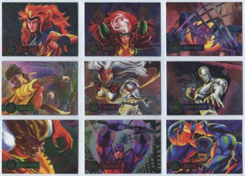 1995 Flair Marvel Annual X-Men Powerblast Power Blast You Pick Finish Your Set
