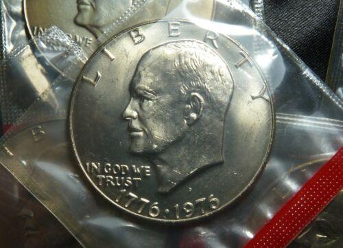 1976 D TYPE 1 Reverse CHOICE EISENHOWER (IKE) $1 DOLLAR