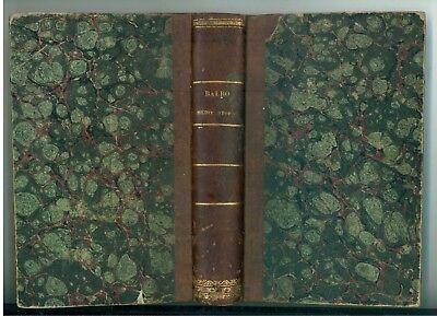 BALBO CESARE MEDITAZIONI STORICHE LE MONNIER 1855 STORIA ANTICA ROMA GRECIA