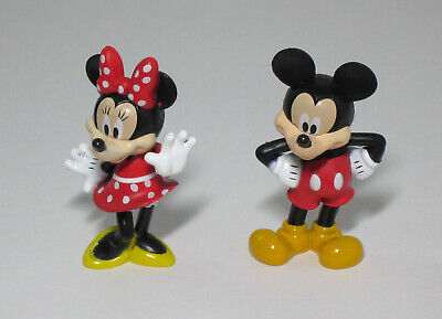 Mickey Mouse Cake Decorations (1 Disney Minnie & Mickey Mouse Figurine Decoset Set Bday Cake Topper Party)