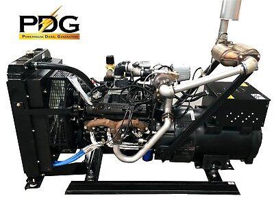 80 Kw General Motors Natural Gas Generator Standby Genset
