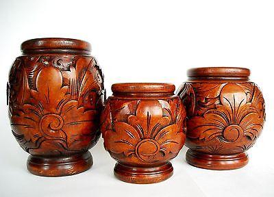 Colourful Decoration Glasses Carved Wooden Elephant L 50 cm S 30 cm M 40 cm