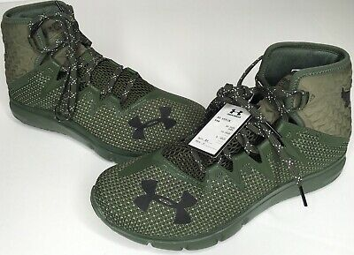 8.5 Mens Under Armour Project Rock Delta DNA Downtown Green Training Gym Shoes