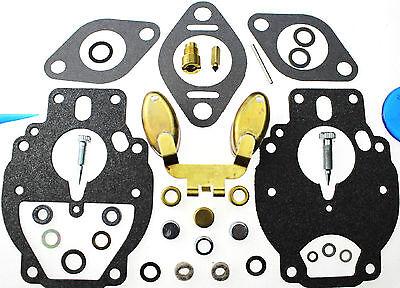 Carburetor Kit Float Fit Case 580ck Tractor G159 F138249 13328 13328a 13106 K68