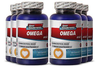 Supreme Fat Burner - Fish Oil Omega 8060 1500mg - Brain SuperFood  Pills 6B