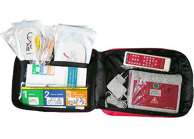 Automatische Defibrillator (Automatischer externer Defibrillator AED Trainer Erste Hilfe Training in Deutsch)