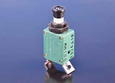 Boeing 2 Amp 1 Ph. Ambient-compensated Aircraft Circuit Breaker Pn Bacc18aa-8