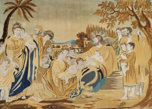 Gobelin Tapestry - Christian Scene