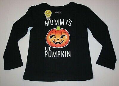 Neu Tcp Kinder Ort Mommy's Kleiner Pumpkin Top Halloween T-Shirt 4t 5t Mädchen ()