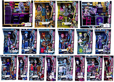 NEW OFFICIAL MONSTER HIGH DOLLS CLEO FRANKIE DRACULAURA CLAWDEEN ACCESSORIES - Draculaura Accessories