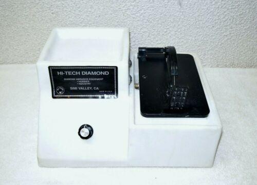 """Hi-Tech Diamond Lapidary 4""""/5"""" Trim Saw"""