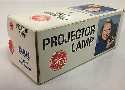 Ge Projector Lamp Bulb Dah 120 V 500 W Nos