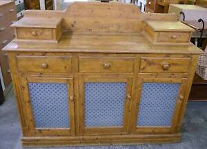 Handmade Farmhouse Rustic Recycled Timber Buffet Sideboard Melbourne CBD Melbourne City Preview