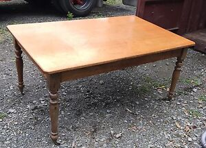 Antique dining table Kingston Kingborough Area Preview