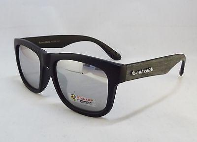 068b1a974b17 BioHazard Optics Sunglasses GRAY   BLACK Wood Grain Design Unisex Men New  Shades