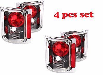 MONACO DIPLOMAT 2004 2005 2006 2007 BLACK TAILLIGHTS REAR LAMPS RV - 4PCS SET