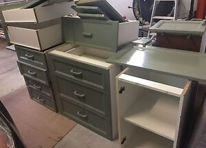 Assorted kitchen cabinets and drawers from an old kitchen Peregian Beach Noosa Area Preview