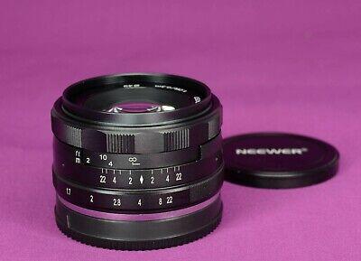 NEEWER/MEIKE 35mm F1.7 PRIME LENS SONY E-MOUNT APSC A6000 A5100 A6100 1609C