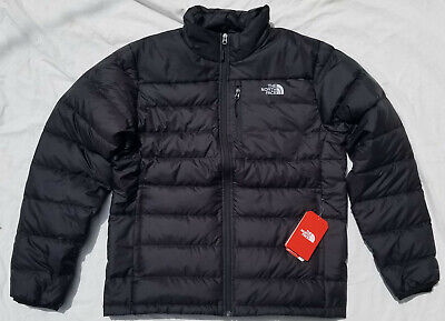 The North Face Men's Aconcagua Down Puffy Puffer Jacket TNF Black L Large NWT