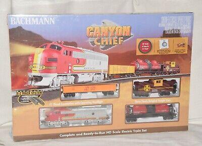 Bachmann Trains HO CANYON CHIEF Ready To Run Electric Train Set