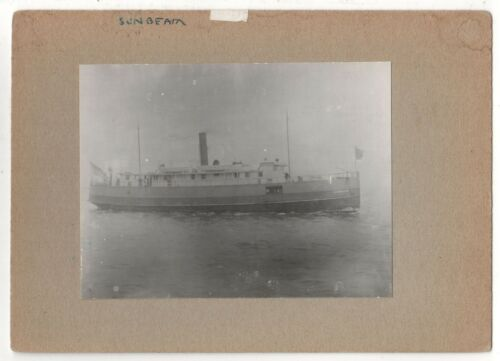 SS SUNBEAM Original PHOTOGRAPH Photo BOAT Ship ALFRED MILLER New York City NYC